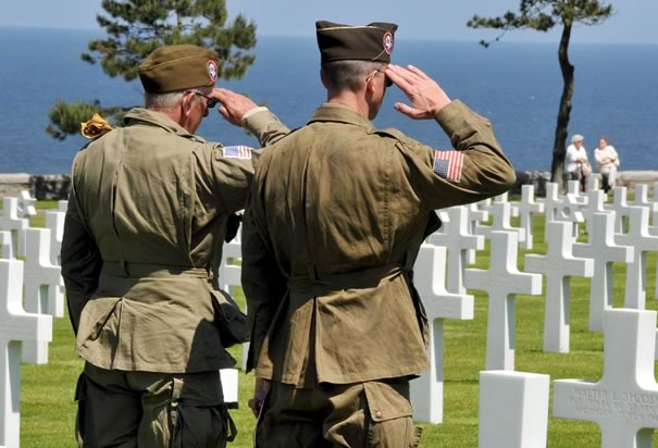 Soldiers at Normandy